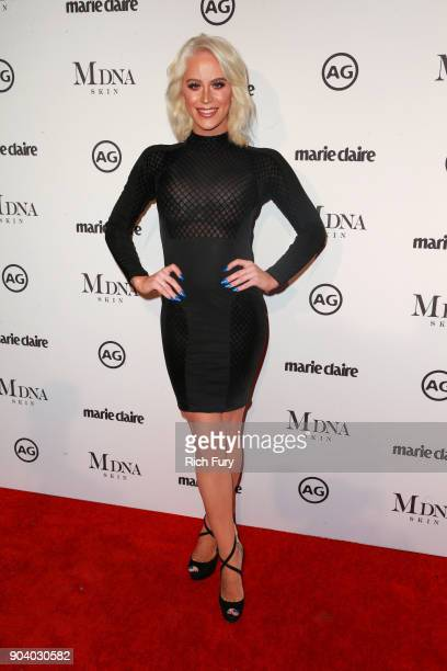 Gigi Gorgeous attends the Marie Claire's Image Makers Awards 2018 on January 11 2018 in West Hollywood California