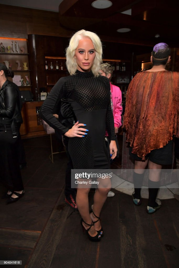 Gigi Gorgeous attends the Marie Claire's Image Makers Awards 2018 on January 11, 2018 in West Hollywood, California.