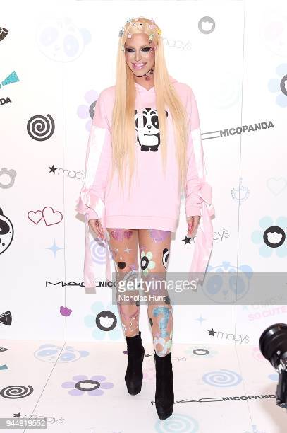 Gigi Gorgeous attends the Nicopanda Ball Macy's Collection Launch at Macy's Herald Square on April 11 2018 in New York City