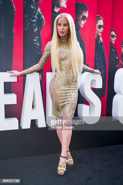 Gigi Gorgeous attends the 'Ocean's 8' World Premiere at Alice Tully Hall on June 5 2018 in New York City