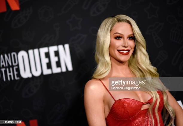 Gigi Gorgeous attends the premiere of Netflix's AJ and the Queen Season 1 at the Egyptian Theatre on January 09 2020 in Hollywood California