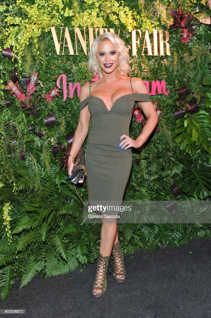 Gigi Gorgeous attends Vanity Fair x Instagram Celebrate the New Class of Entertainers at Mel's Diner on Golden Globes Weekend at Mel's Diner on January 6, 2018 in West Hollywood, California.
