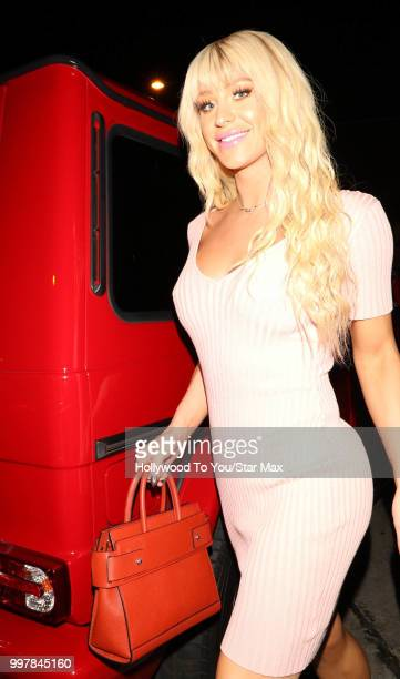 Gigi Gorgeous is seen on July 12 2018 in Los Angeles California