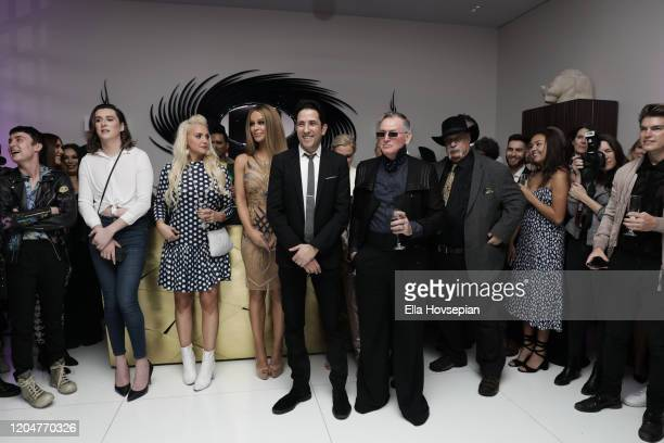 Gigi Gorgeous Rafael Feldman Montgomery Frazier Michael Horowitz and guests at the LA Launch Event Of SohoMuse at Christopher Guy West Hollywood...