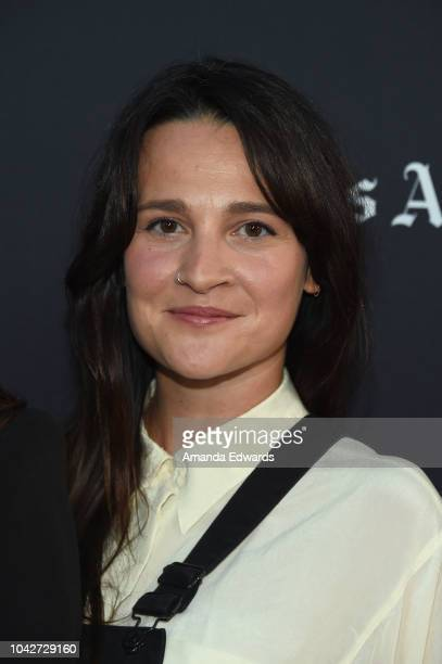 """Gigi Graff attends the Closing Night Screening of """"Nomis"""" during the 2018 LA Film Festival at ArcLight Cinerama Dome on September 28, 2018 in..."""