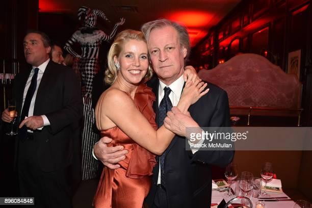 Gigi Grimstad and Patrick McMullan attend Julie Macklowe's 40th birthday Spectacular at La Goulue on December 19 2017 in New York City