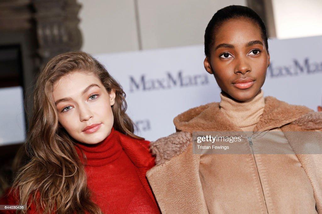 Max Mara - Backstage - Milan Fashion Week Fall/Winter 2017/18 : News Photo