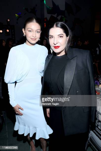 Gigi Hadid and Marina Abramovic attend the WSJ. Magazine 2019 Innovator Awards sponsored by Harry Winston and Rémy Martin at MOMA on November 06,...