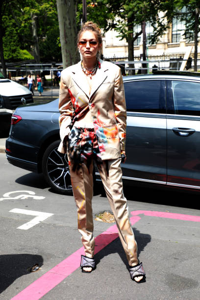 FRA: Heron Preston : Outside Arrivals - Paris Fashion Week - Menswear Spring/Summer 2020