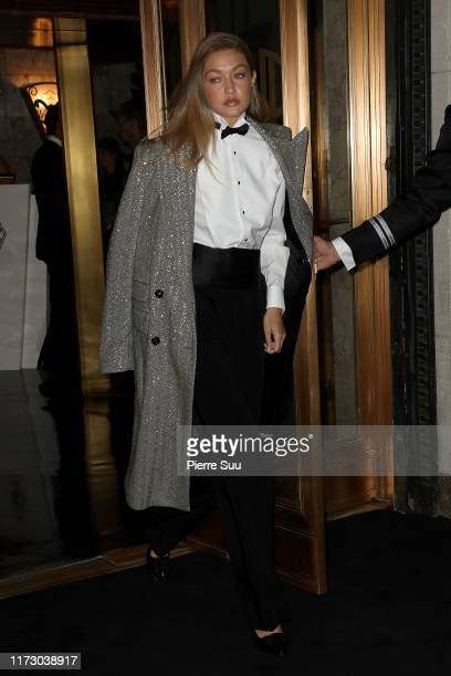 Gigi Hadid arrives at the Ralph Lauren Fashion Show Arrivals during New York Fashion Week on September 07, 2019 in New York City.
