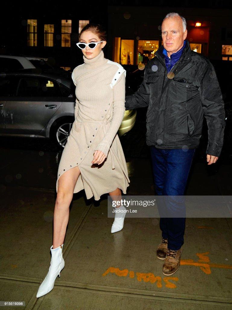 Celebrity Sightings in New York City - February 7, 2018 : ニュース写真