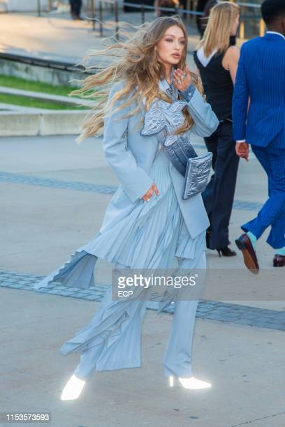 Gigi Hadid at the 2019 CFDA Fashion Awards held at the Brooklyn Museum on June 3 2019 in New York City