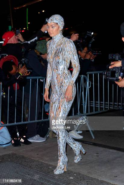 Gigi Hadid at the official Met Gala afterparty at Up and Down on May 6 2019 in New York City