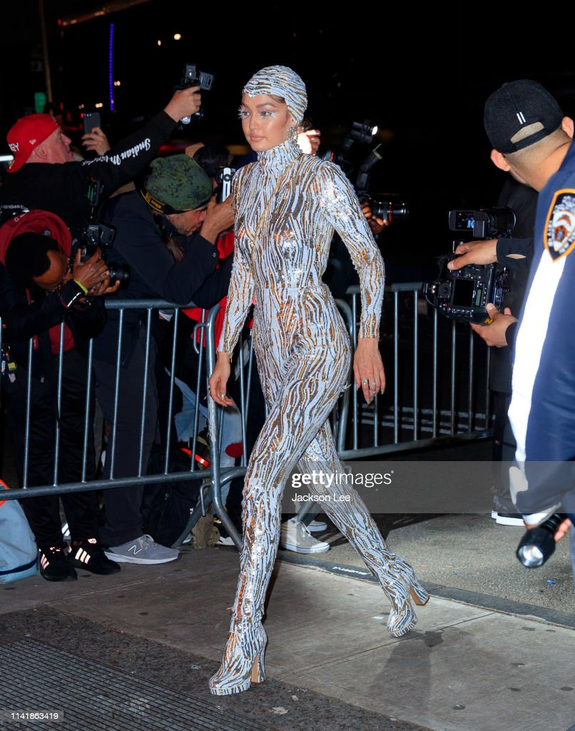 The 2019 Met Gala Celebrating Camp: Notes on Fashion - Street Sightings : News Photo
