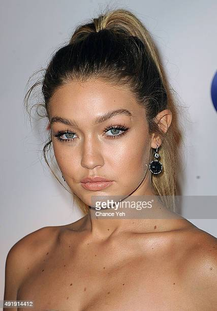 Gigi Hadid attends 2015 Global Lyme Alliance Gala at Cipriani 42nd Street on October 8 2015 in New York City