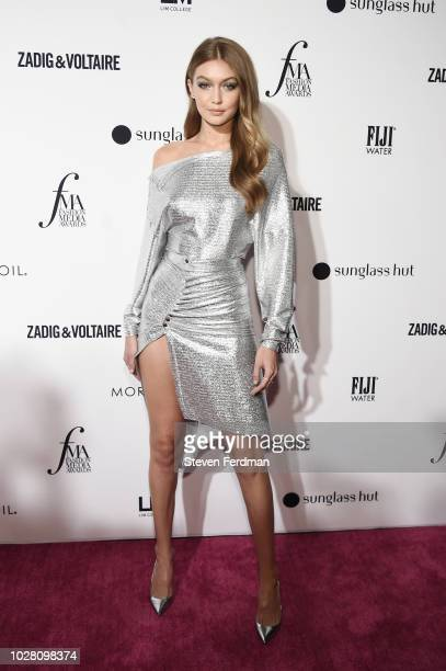 Gigi Hadid attends Daily Front Row's Fashion Media Awards presented by ZadigVoltaire Sunglass Hut Moroccan Oil LIM Fiji on September 6 2018 in New...