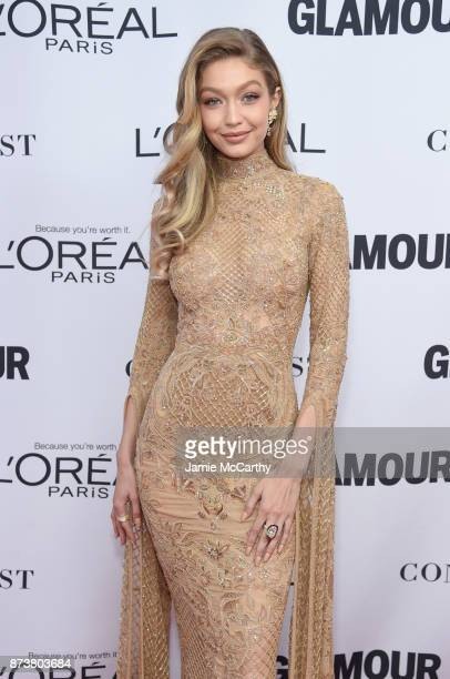 Gigi Hadid attends Glamour's 2017 Women of The Year Awards at Kings Theatre on November 13 2017 in Brooklyn New York