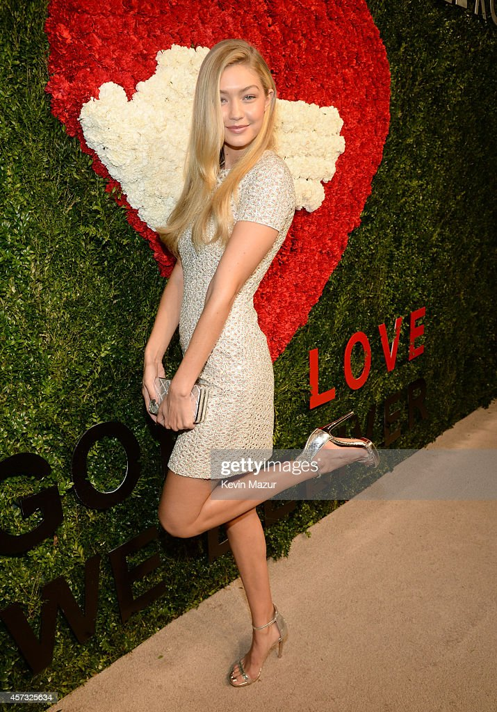 Gigi Hadid attends God's Love We Deliver, Golden Heart Awards on October 16, 2014 in New York City.