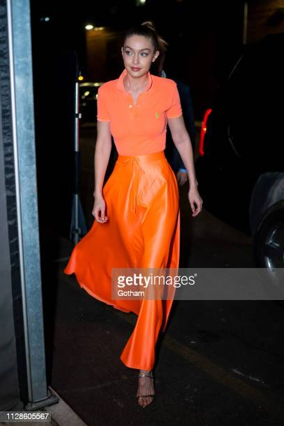 Gigi Hadid attends Maybelline New York Fashion Week Party at the Public Hotel on February 09 2019 in New York City