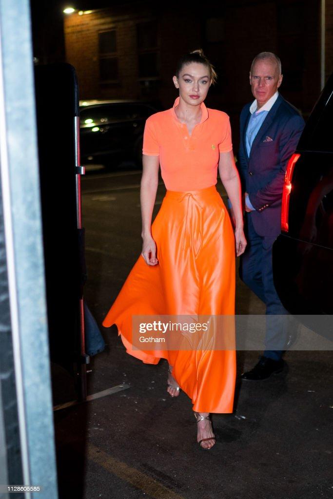 Celebrity Sightings In New York City - February 09, 2019 : News Photo