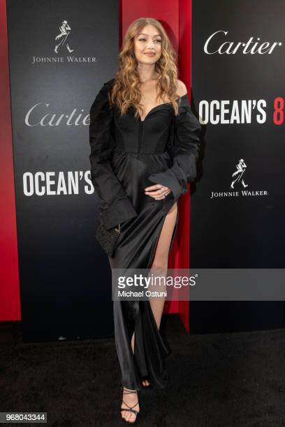 Gigi Hadid attends 'Ocean's 8' World Premiere at Alice Tully Hall on June 5 2018 in New York City