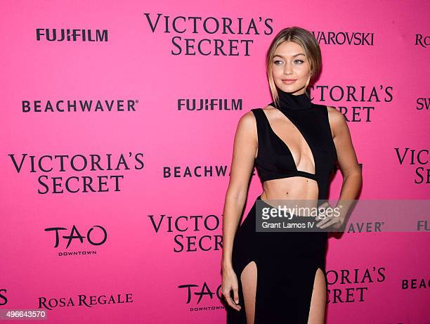 Gigi Hadid attends the 2015 Victoria's Secret Fashion After Party at TAO Downtown on November 10 2015 in New York City