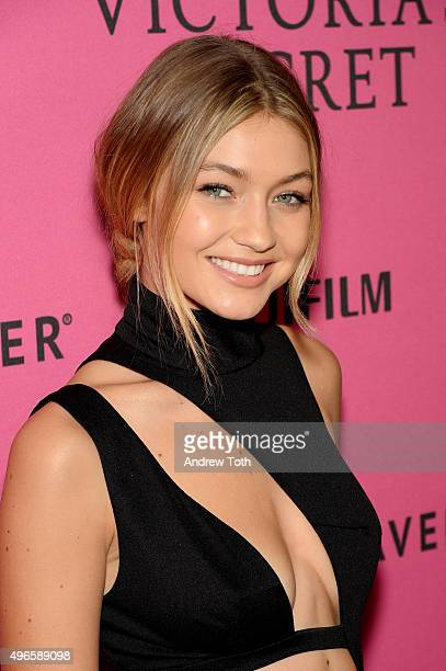 Gigi Hadid attends the 2015 Victoria's Secret Fashion Show after party on November 10 2015 in New York City