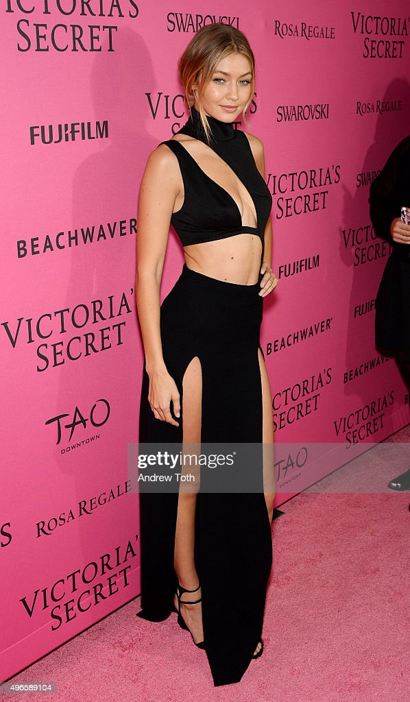 Gigi Hadid attends the 2015 Victoria's Secret Fashion Show after party on November 10, 2015 in New York City.