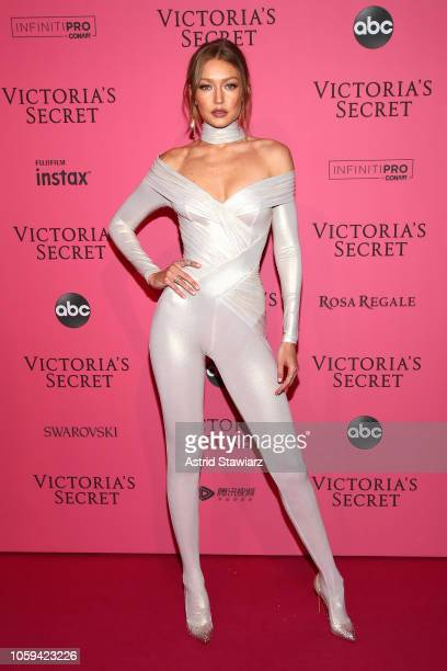 Gigi Hadid attends the 2018 Victoria's Secret Fashion Show After Party on November 8, 2018 in New York City.