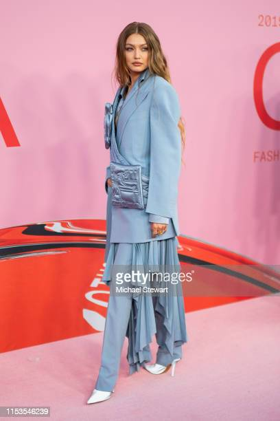 Gigi Hadid attends the 2019 CFDA Fashion Awards at the Brooklyn Museum of Art on June 03, 2019 in New York City.