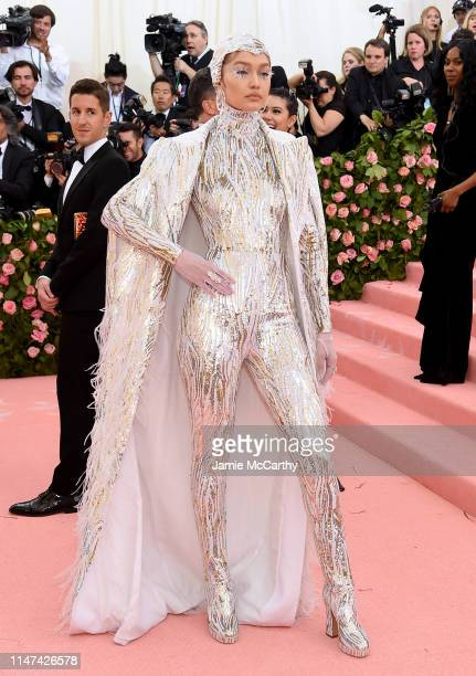 Gigi Hadid attends The 2019 Met Gala Celebrating Camp Notes on Fashion at Metropolitan Museum of Art on May 06 2019 in New York City