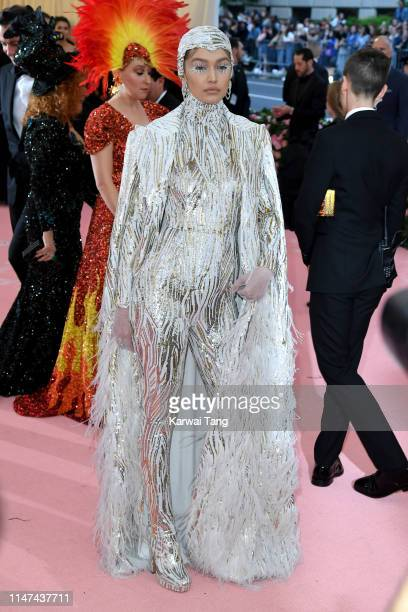 Gigi Hadid attends The 2019 Met Gala Celebrating Camp Notes On Fashion at The Metropolitan Museum of Art on May 06 2019 in New York City