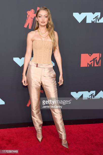Gigi Hadid attends the 2019 MTV Video Music Awards at Prudential Center on August 26, 2019 in Newark, New Jersey.