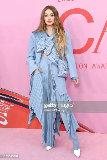 Gigi Hadid attends the CFDA Fashion Awards at the Brooklyn Museum of Art on June 03, 2019 in New York City.