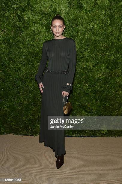 Gigi Hadid attends the CFDA / Vogue Fashion Fund 2019 Awards at Cipriani South Street on November 04 2019 in New York City