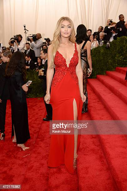 Gigi Hadid attends the China Through The Looking Glass Costume Institute Benefit Gala at Metropolitan Museum of Art on May 4 2015 in New York City