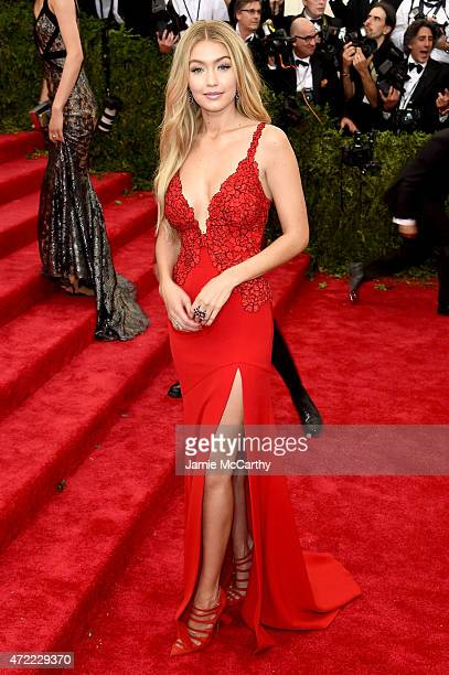 Gigi Hadid attends the China Through The Looking Glass Costume Institute Benefit Gala at the Metropolitan Museum of Art on May 4 2015 in New York City