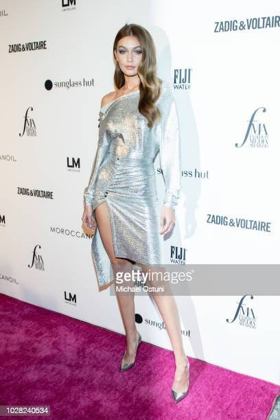 Gigi Hadid attends The Daily Front Row 6th Annual Fashion Media Awards at Park Hyatt New York on September 6 2018 in New York City