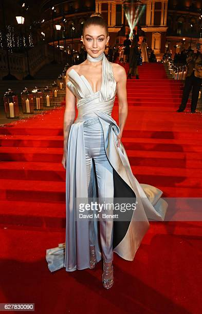 Gigi Hadid attends The Fashion Awards 2016 at Royal Albert Hall on December 5 2016 in London United Kingdom