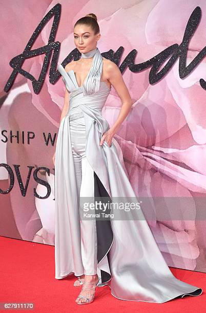 Gigi Hadid attends The Fashion Awards 2016 at the Royal Albert Hall on December 5 2016 in London United Kingdom