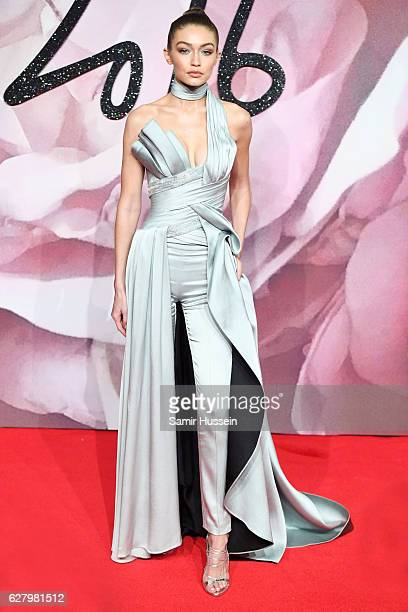 Gigi Hadid attends The Fashion Awards 2016 on December 5 2016 in London United Kingdom