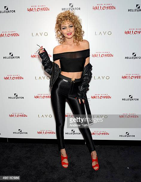 Gigi Hadid attends the Heidi Klum Halloween Party on October 31 2015 in New York City