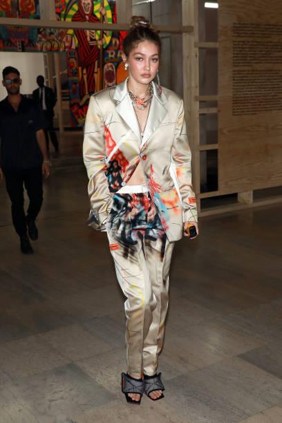 FRA: Heron Preston : Front Row - Paris Fashion Week - Menswear Spring/Summer 2020
