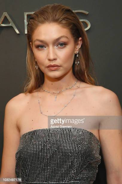 Gigi Hadid attends the MESSIKA Party NYC Fashion Week Spring/Summer 2019 Launch Of The Messika By Gigi Hadid New Collection at Milk Studios on...