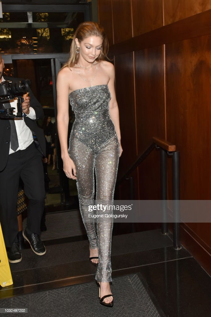 MESSIKA Party, NYC Fashion Week Spring/Summer 2019 Launching Of The Messika By Gigi Hadid New Collection : News Photo