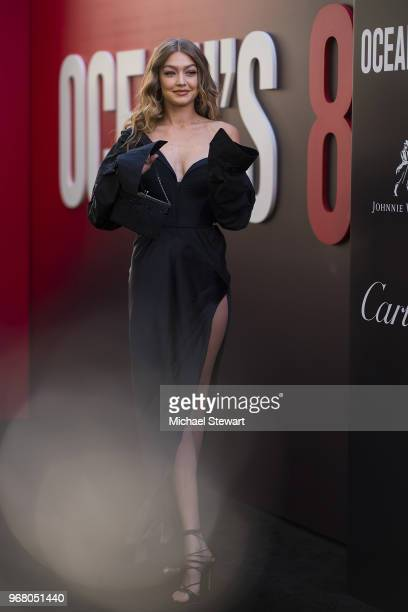 Gigi Hadid attends the 'Ocean's 8' World Premiere at Alice Tully Hall on June 5 2018 in New York City