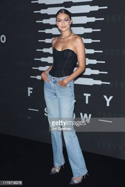 Gigi Hadid attends the Savage x Fenty arrivals during New York Fashion Week at Barclays Center on September 10, 2019 in New York City.