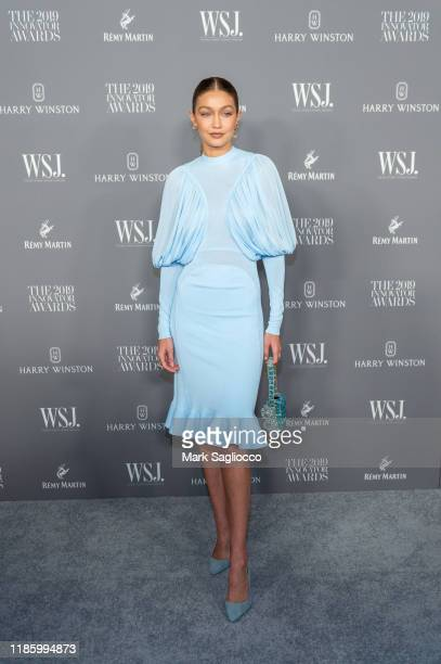 Gigi Hadid attends the WSJ Mag 2019 Innovator Awards at The Museum of Modern Art on November 06, 2019 in New York City.
