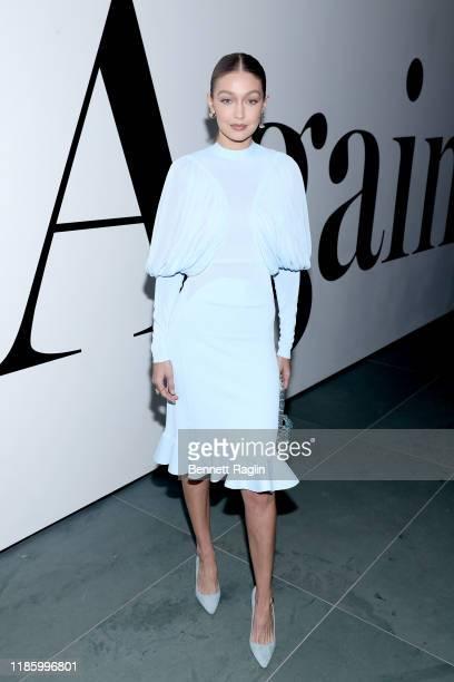 Gigi Hadid attends the WSJ Magazine 2019 Innovator Awards sponsored by Harry Winston and Rémy Martinat MOMA on November 06 2019 in New York City