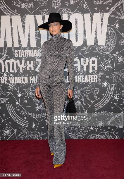 Gigi Hadid attends TOMMYNOW New York Fall 2019 - Front Row & Atmosphere at The Apollo Theater on September 08, 2019 in New York City.